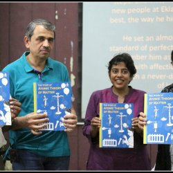 Eklavya's title The Story of Atomic Theory of Matter being launched in Bhopal