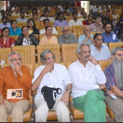 Audience in Eklavya's public science lecture on May 13, 2017, in the memory of Rex D'Rozario